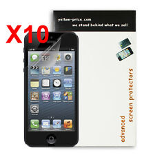 10 Pack HD Front Clear Screen Protector LCD Guard for iPhone 5