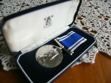 More details for police long service and conduct medal