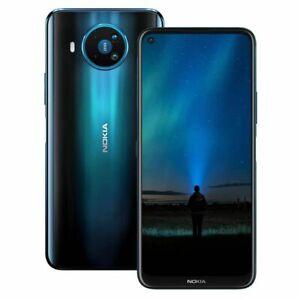 Nokia 8.3 5G TA-1243Ds Dual Sim 8+128GB Blue no extra cost BNIB