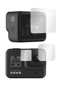 "Slabo Displayschutzfolie für GoPro HERO8 Black (3er Set) KLAR ""Crystal Clear"""