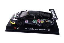 BBURAGO 1:43 Race - Lamborghini Murcielago Fia Gt DIE-CAST CAR (18-38002)