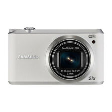 Samsung WB350F 16.2MP CMOS Smart WiFi & NFC Digital Camera White