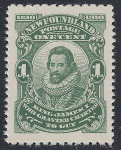 Newfoundland # 87b Mint Never Hinged Very Fine Single Perf 12x14