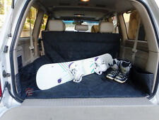 """SUV Truck Van Car Cargo Liner Cargo Mat Cover Quilted Washable 93""""L Black New"""
