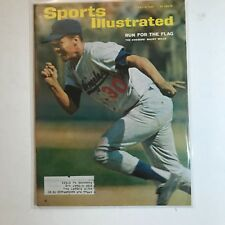 July 12,1965 Sports Illustrated Magazine Dodgers Maury Wills