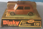 DINKY TOYS  N°178 MINI CLUBMAN TRES RARE IN BOX SCALE:1/43