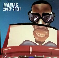 "MANIAC 2DEEP 2PEEP CD G FUNK 1994 RAP HIPHOP GANGSTA MAD SOUNDS RECORDS lp 12"""