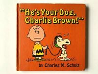 1968 1st Edition He's Your Dog, Charlie Brown by Charles M. Schulz HC