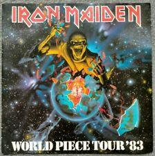 More details for iron maiden world piece tour '83 concert programme