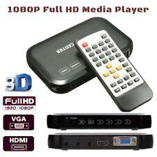 Full 1080P HD MEDIA PLAYER HDMI Digi Box SD Card USB External Hard Drive Reader