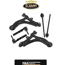 CONTROL ARMS INNER OUTER TIE RODS ENDS FOR PONTIAC AZTEK BUICK RENDEZVOUS 01-07