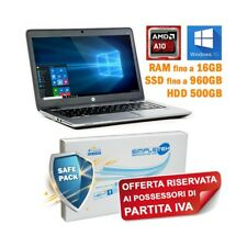 "COMPUTER NOTEBOOK HP ELITEBOOK 745 G2 AMD A10 PRO-7350B 14"" WIN 10 PRO PER P.IVA"