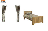 Kids Army Single MTP Camo Duvet Cover & Curtains Set - Army Bedroom Ideas