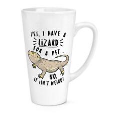 sí I Tienen un lagarto para Un Pet 483ml Grande Latte Taza - Divertido Animal