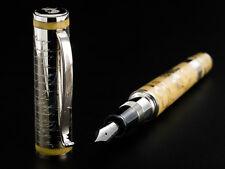 Omas Aleksandr Pushkin Solid 925 Sterling Silver Fountain Pen M. Ltd Ed of 1000