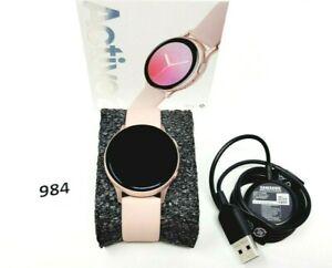 Samsung Galaxy Watch Active 2 SM-R830 40mm Aluminum Case Sport Band - Pink