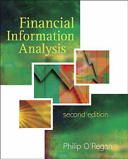 Financial Information Analysis 2e, ORegan, Philip, New