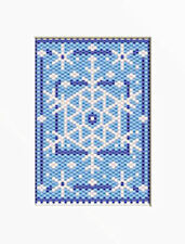 SNOWFLAKES PONY BEAD BANNER PDF PATTERN ONLY