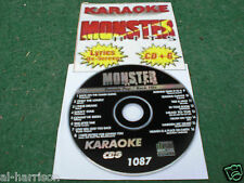 Karaoke Monster Hits Cd+G Classic Female Pop/Rock Hits #1087