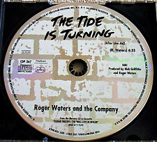 ROGER WATERS~The TIDE is TURNING (After Live Aid)~PROMO CD~ Rare PROMO Version