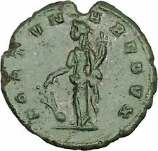 CLAUDIUS II Gothicus 268AD  Ancient Roman Coin Fortuna Luck Cult    i39844