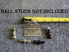 HEAVY DUTY Shock Spring Strut Reversible Ball Stud Bolt on Bracket Angle Mount