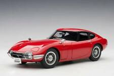Autoart Toyota 2000 GT Coupe 1965 Red 1 18 78751