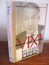 1st Edition VIXI Richard Pipes MEMOIRS of a Non Belonger YALE Autobiography