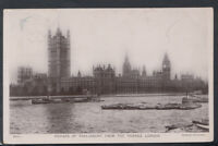 London Postcard - Houses of Parliament From The Thames     T2829