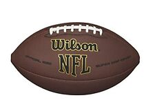 New Wilson Nfl Super Grip Official Football Free Shipping