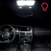 4 ampoules à LED smd  Plafonnier avant  Blanc pour   Audi  A3 A4  A6 A8  Q5  Q7
