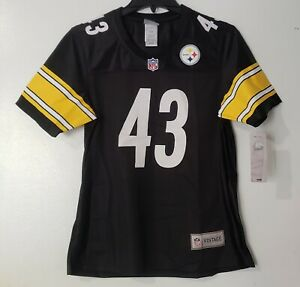 Troy Polamalu Pittsburgh Steelers NFL Pro Line Retired Player Jersey - Black