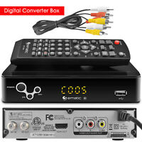 Ematic AT103B Digital Converter Box with Recording, Playback, & Parental Control