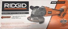 RIDGID R86041B 18-Volt Lithium-Ion Cordless Brushless Angle Grinder *BRAND NEW*