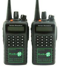 VERTEX VX459 Vhf 136-174 Mhz 5 Watt Walkie-Talkie Radios De Dos Vías-Nuevo X 2