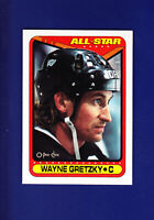 Wayne Gretzky AS HOF 1990-91 O-PEE-CHEE OPC Hockey #199 (MINT) Los Angeles Kings