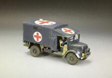 King & Country RAF015 Austin K2 RAF Airfield Ambulance Truck & Driver New