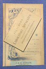Fletcher's Scientific Apparatus Catalog  1888  Furnaces Burners Assaying