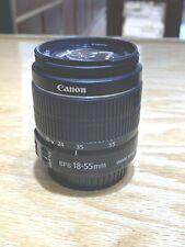 Canon zoom lens EF-S 18-55mm 1:3.5-5.6 IS II
