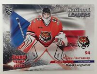 2020 Sereal KHL National Leaders 6/10 Marek Langhamer Parallel Card