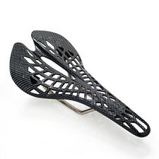 MTB/Road Spider Cycle Seat,Black Bicycle Cycling Saddle Plastic Carbon Surface