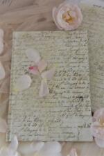 Jeanne d'Arc Living Notizbuch Tagebuch Album mit alter französischer Schrift JDL