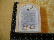 D Morgan Dear Santa Stamps Happen Cute Country letter to Santa stamp EUC