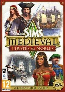 EA The Sims Medieval Pirates & Nobles PC/Mac game expansion pack new sealed