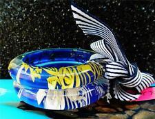 Betsey Johnson Bracelet FLOATING ROSES Clear White LUCITE Illusion Bangles 2 NWT