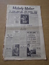 MELODY MAKER 1948 NOVEMBER 20 VIC LEWIS JACK PARNELL TEDDY FOSTER +