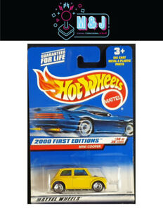 Hot Wheels 2000 First Edition Mini Cooper 30/36 Sealed  (Aussie Seller)