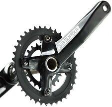 Suntour XCR-D Hollowtech 10s Double 36/22T Chainset Crankset MTB Bike 10 Speed