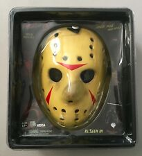 NECA Friday the 13th Part 3 JASON VOORHEES Hockey Mask Prop Replica Brand New