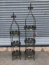 Set Of Decorative Circular Display Shelving Units